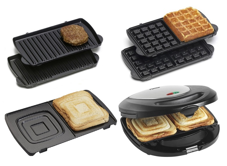 bestron asm8010 3in1 kontaktgrill sandwich maker u waffeleisen 700 w. Black Bedroom Furniture Sets. Home Design Ideas