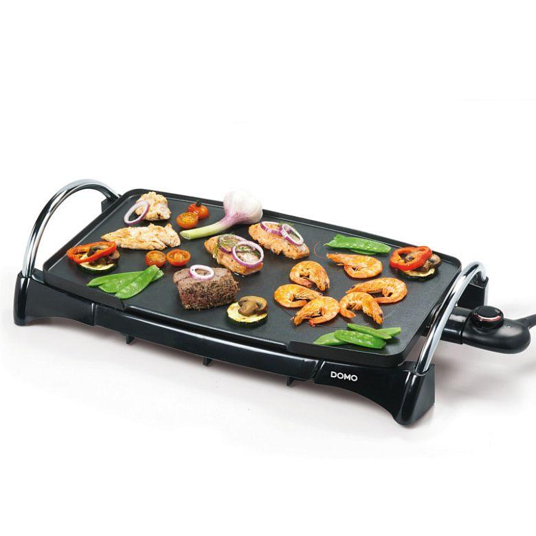 teppan yaki grill bratplatte tischgrill partygrill grillplatte teppanyaki 2200 w ebay. Black Bedroom Furniture Sets. Home Design Ideas