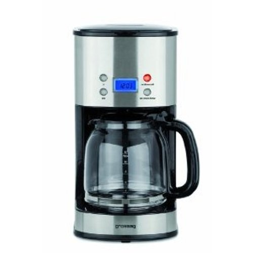 grossag ka 64 kaffeemaschine mit timer 12 tassen 1000 watt. Black Bedroom Furniture Sets. Home Design Ideas